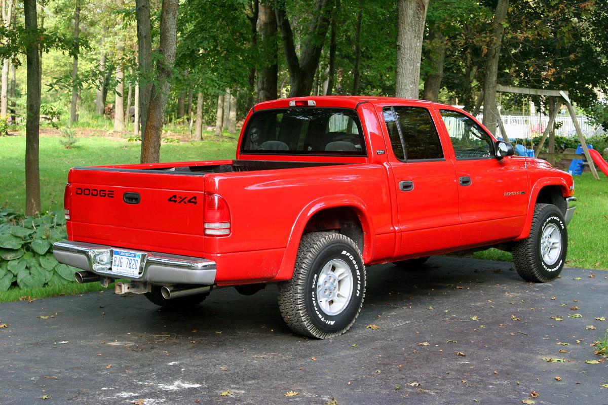 2000 dodge dakota slt 4x4 4 7l red. Black Bedroom Furniture Sets. Home Design Ideas