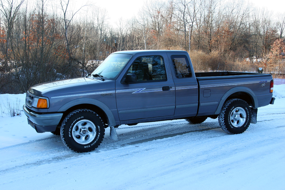 w00t new beater pickup 1995 ford ranger. Black Bedroom Furniture Sets. Home Design Ideas