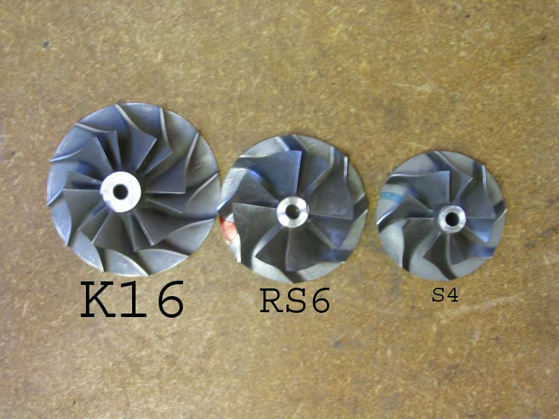 Is there any interest in turbochargers larger than K04's